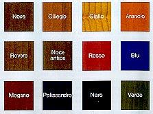 Anilina colorante legno – Parete attrezzata moderna