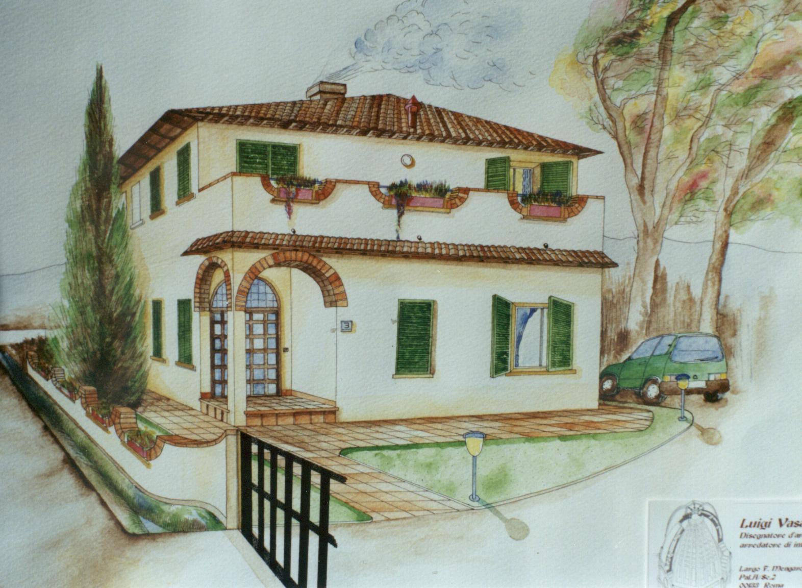 Arredamento - Progetto casa campagna ...