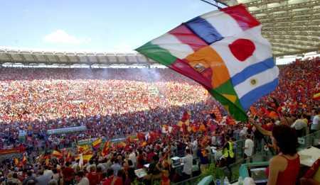 L'Olimpico pieno il giorno del terzo scudetto