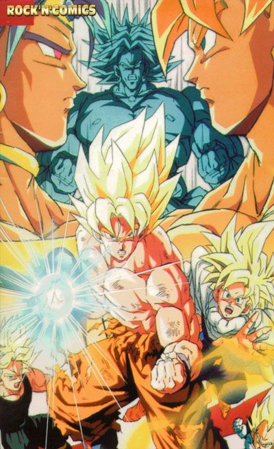 Dragon Ball Z Goku vs Broly