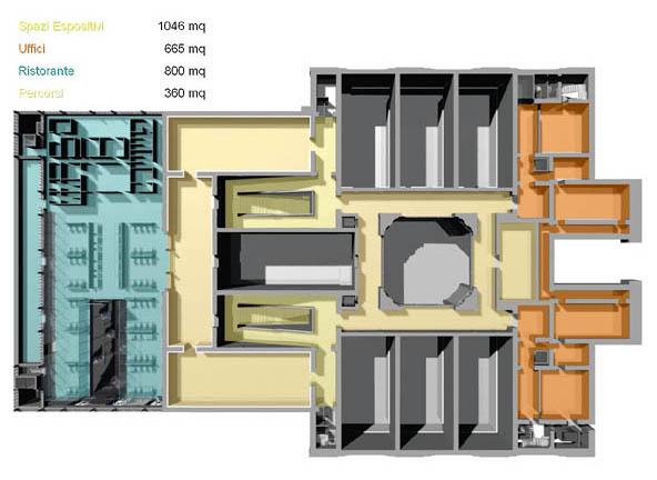 Michele de lucchi firouz galdo restauro del palazzo for Palazzo delle esposizioni via nazionale roma