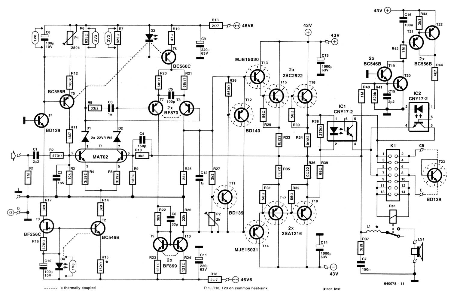 Simple Audio Mixer Circuit With Fet 2n3819