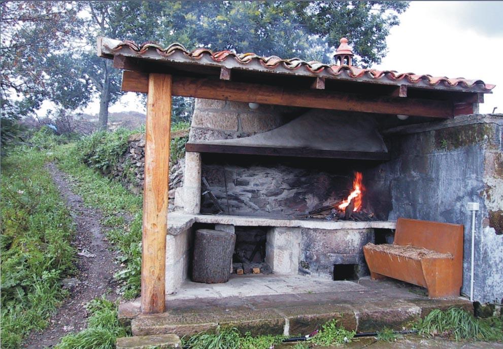 Caminetti per esterno yl18 regardsdefemmes - Barbecue esterno ...