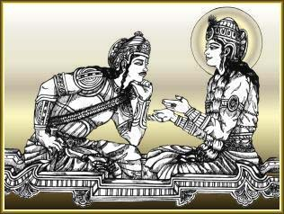Lord Krishna's Bhagavad Gita 