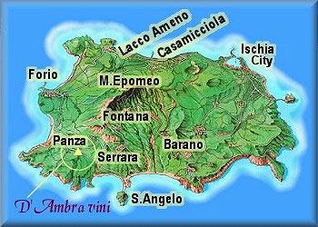 D Ambra Vini D Ischia Map