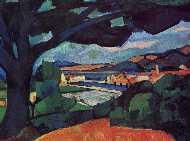 Derain -  Panorama di Mortigues - 1908