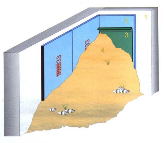 Isol muri controterra for Costruzione scantinato di scantinati