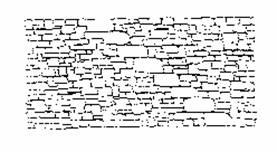 La pietra nelle esperienze costruttive del territorio for Muretto recinzione dwg