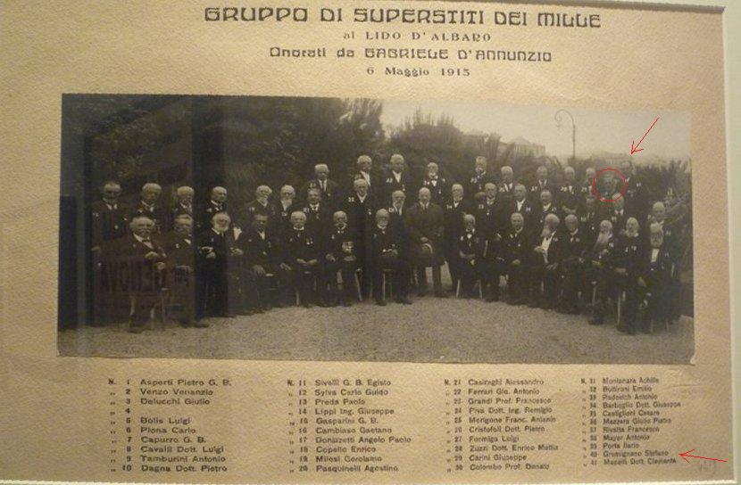 Superstiti dei Mille - 1915