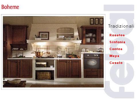 Fornari arredamenti roma le cucine - Cucine piastrellate ...