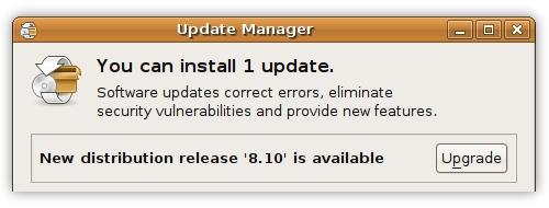 Update Ubuntu Intrepid