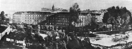 Il familisterio in una foto scattata nel 1905