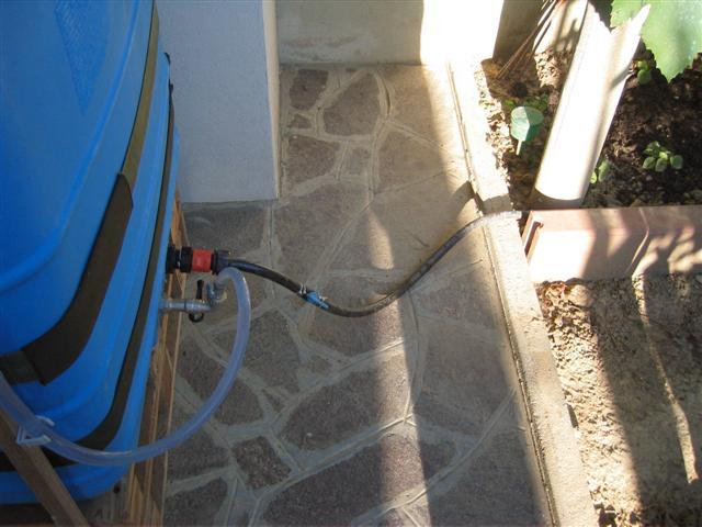 Recupero acqua for Sistema irrigazione fai da te balcone