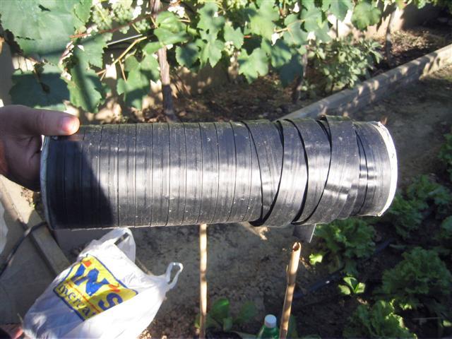 tubo forato per irrigazione orto termosifoni in ghisa