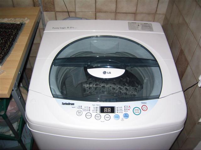 Lavapanni eco for Lavatrice carica dall alto 8 kg