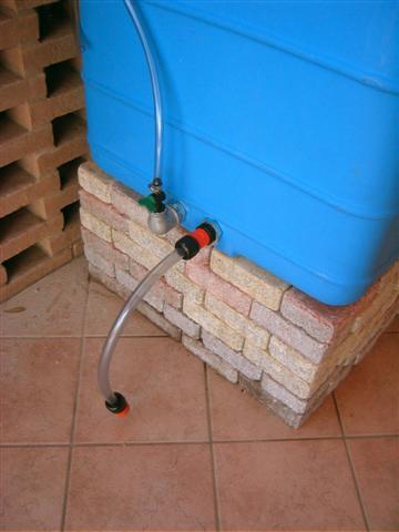 Recupero acqua for Irrigazione a caduta