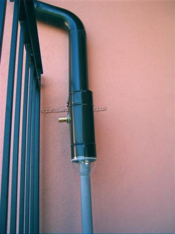 Recupero acqua - Cattivo odore bagno tubo di sfiato ...