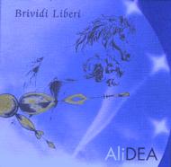 """Copertina CD """"Brividi Liberi"""" di AliDEA; Sinergia pittorico/fotografica: Siros e Ennio Brunelli"""