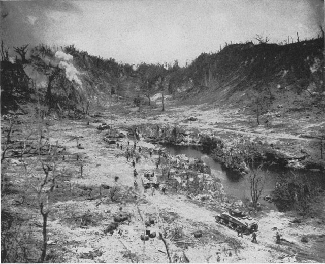 Peleliu Then And Now