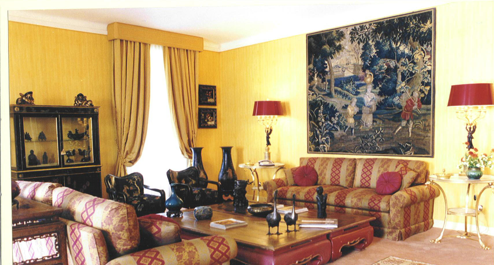 5 for Immagini pareti colorate soggiorno