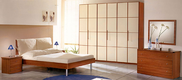Arredamenti linea 80 le camere - Camera da letto in ciliegio ...