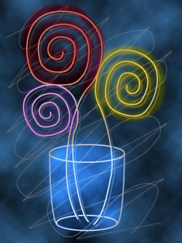 Fiori stilizzati for Fiori stilizzati immagini