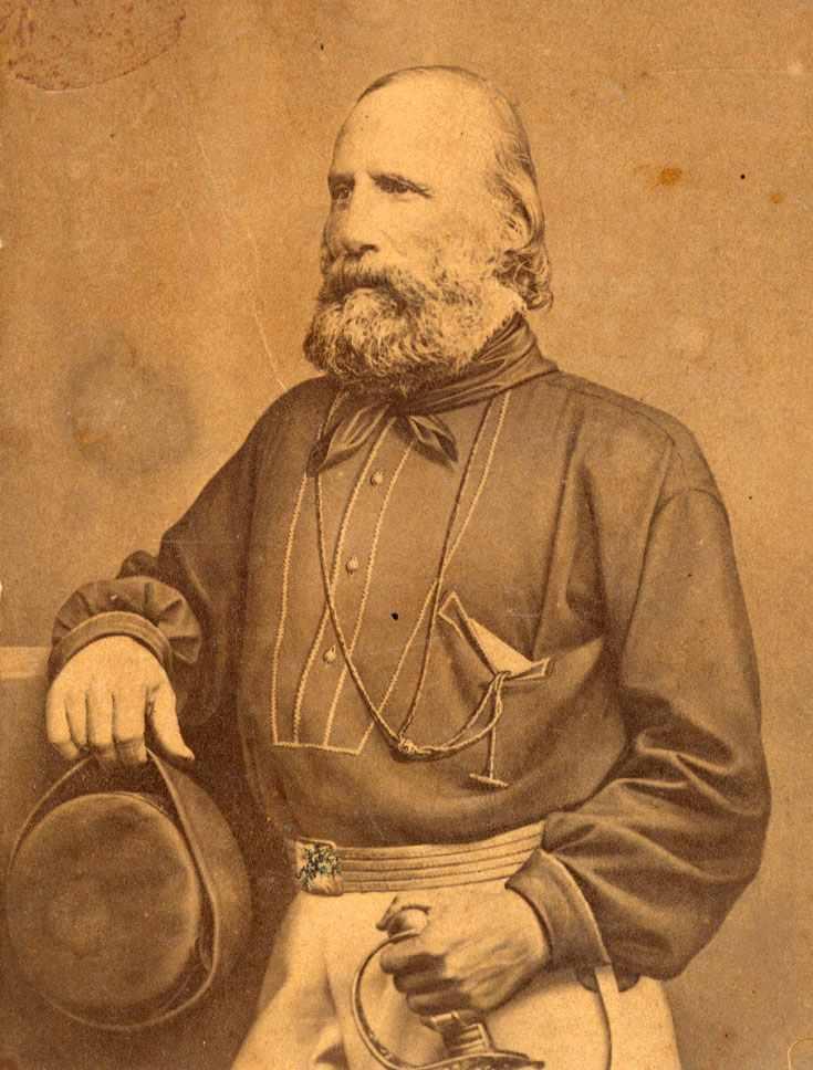 L'Eroe nazionale Giuseppe Garibaldi