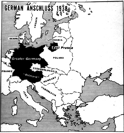 Cartina Europa 1938.Nel 1938 Accadde