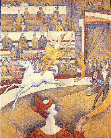 georges seurat the circus - photo #7