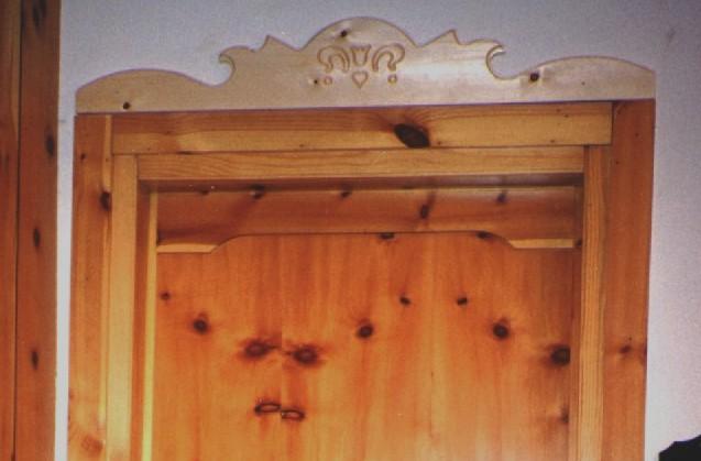 Palibois vallee d 39 aoste aosta costruttore di ringhiere in legno per scale balconate e - Decorazioni porte interne ...