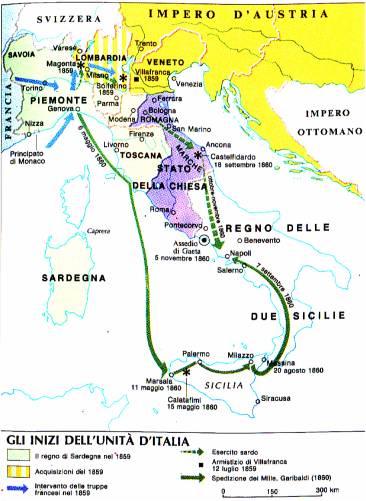 Cartina Politica Italia 1860.Cenni Storici Su Fermo 3 4