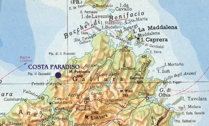 Costa Paradiso Sardegna Cartina Geografica.Homepage Costa Paradiso