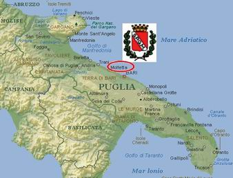 Cartina Puglia Molfetta.Principalemolf