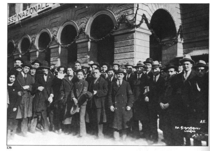 96° anniversario dalla fondazione del Partito Comunista d'Italia