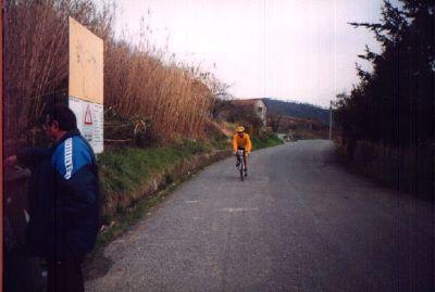 Alex verso Aquila d�Arroscia-Ceriale'01