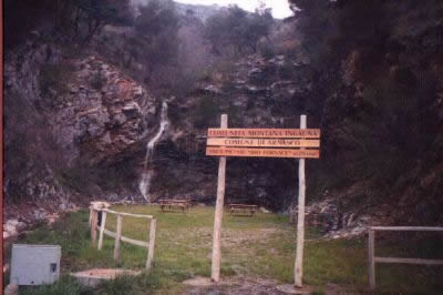 area attrezzata ad Arnasco-Sv-