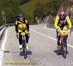 Felice e Sandro sul Selvino.
