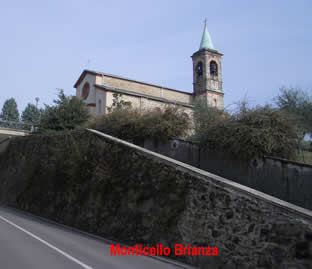 Monticello Brianza: la chiesa