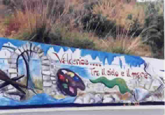 Valderice: murales.
