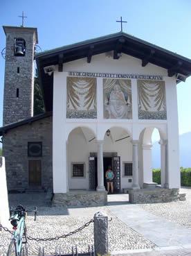 Il santuario del Ghisallo (Magreglio)