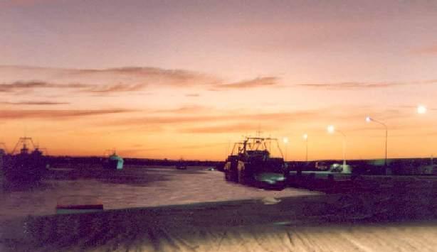 Portopalo al tramonto