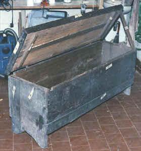 Il restauro del mobile antico i miei lavori cassapanca for Cassapanca del 700