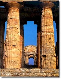 Il tempio for Colonne esterne di stile dell artigiano