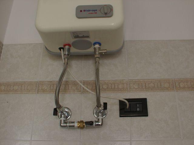 Resistenza elettrica per boiler - Scaldabagno istantaneo elettrico ...