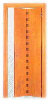 Porte interne in legno for Porta a libro noce