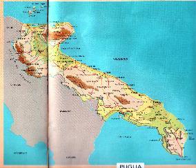 Bari Cartina Geografica.Percorso Geog