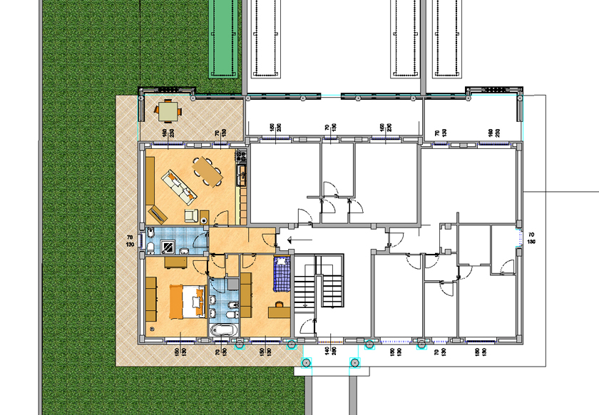 Angolo Cottura Shabby Planimetrie ~ home design, ispirazione interni e mobili