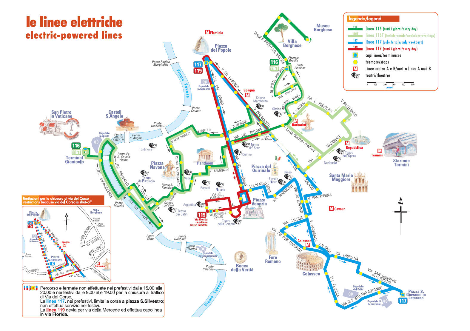 B&B bed and breakfast in Rome Italy - Abacus B&B - Roma Italia Map Of Downtown Rome on