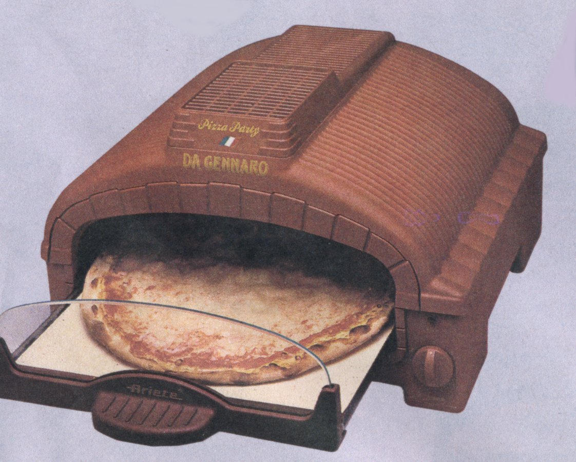 Piccoli elettr per cucina - Forno con pietra refrattaria ...