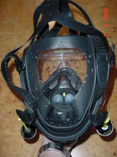 maschera subacquea gran facciale